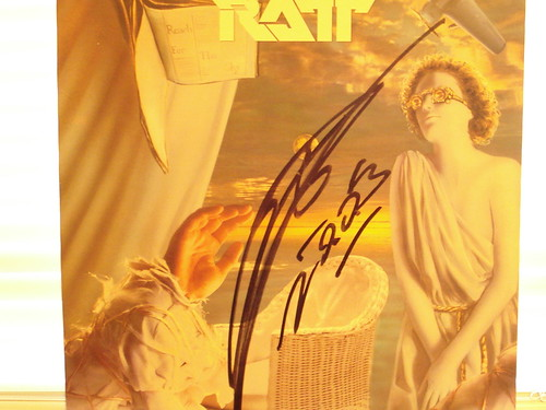 1988 - Ratt Reach For The Sky (Autographed by Stephen Pearcy)