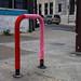 red/pink bike rack cozy hit up by damonabnormal