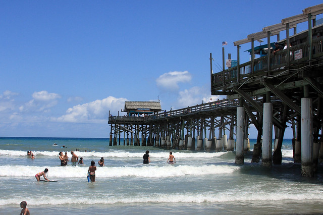 Cocoa beach fishing pier flickr photo sharing for Cocoa beach fishing pier