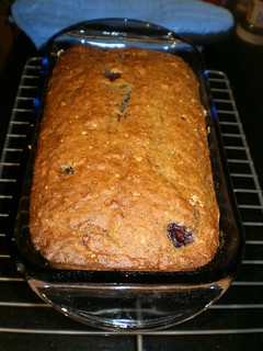 Banana-Blueberry Bread