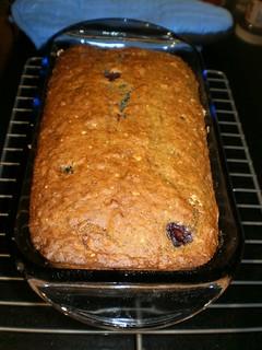 Banana-Blueberry Bread