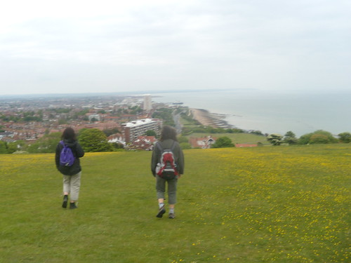 Buttercups over Eastbourne