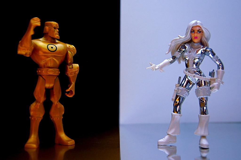Gold vs. Silver Sable (157/365)