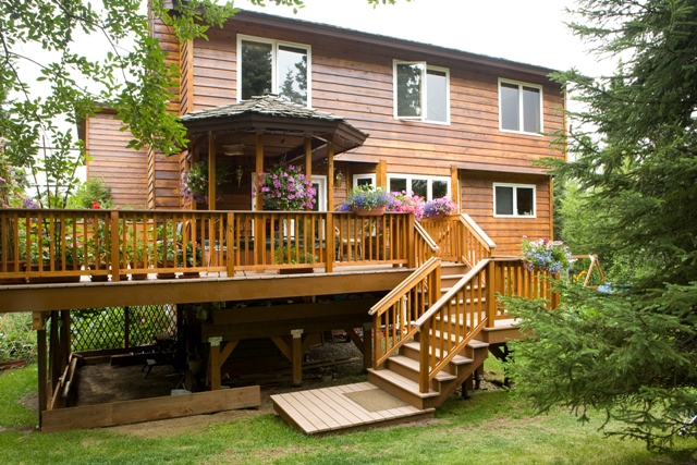 deck design ideas trex cedar hardwood alaskan0163 flickr photo eastern