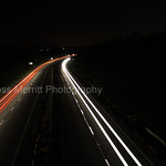 Dual Carriageway at Night