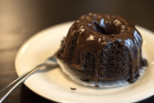 Mini Chocolate Bundt Cake