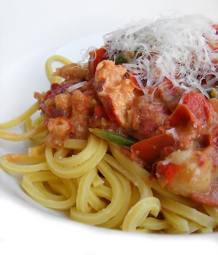 Gordon Ramsay's Lobster spaghetti