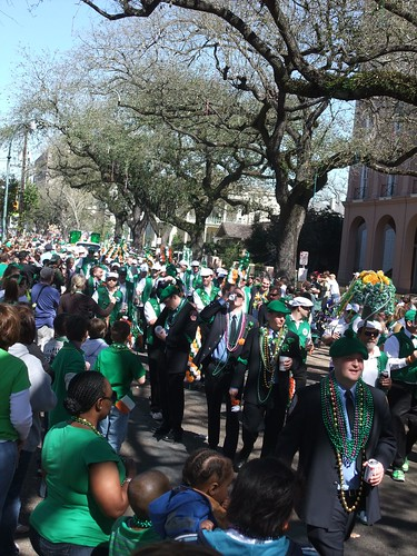 St. Patty's Day Parade New Orleans