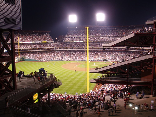 2004 citizens bank park: at night