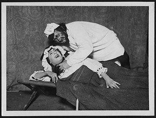Deathbed scene from Othello