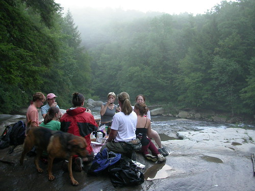 Picnic on Meadow Run, Ohiopyle, PA