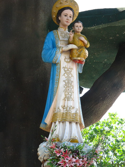 Tượng Mẹ La Vang 488