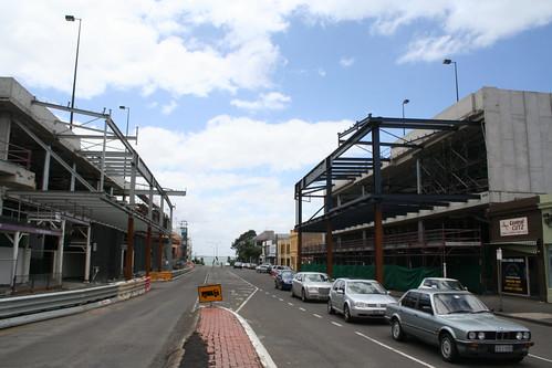Yarra Street before the skybridge blocks the view forever