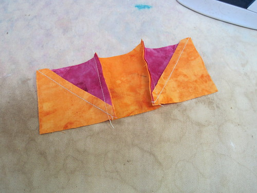 Nested seams directions