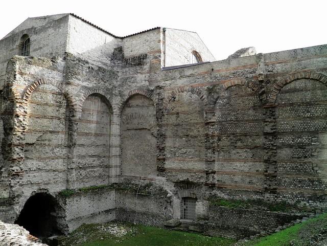 The  caldarium, Thermes de Cluny