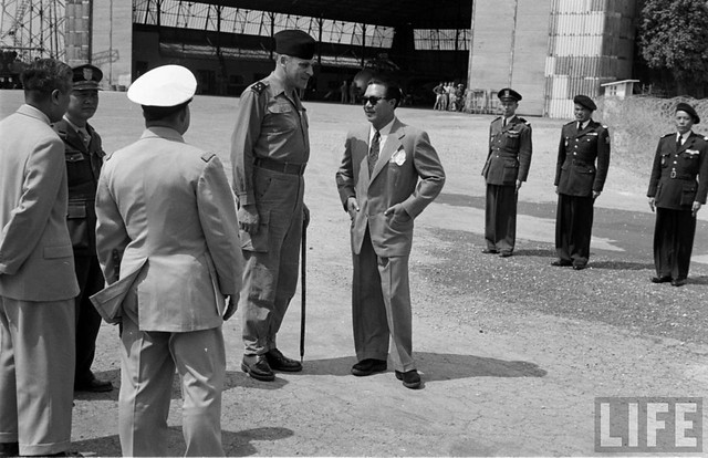 Hanoi, March 1954. Sân bay Gia Lâm Hà Nội