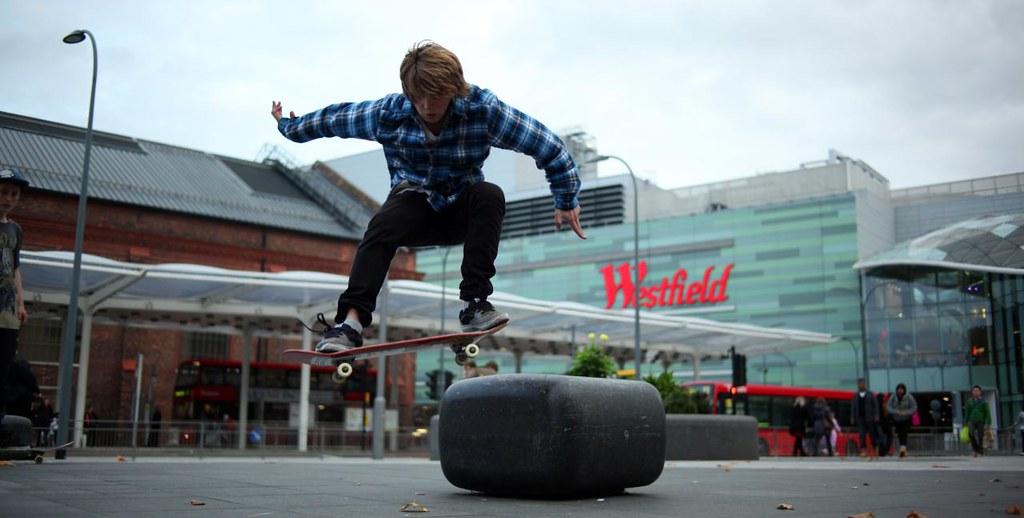 Creative Skate Boarding in London