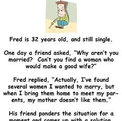 Fred Needs a Wife