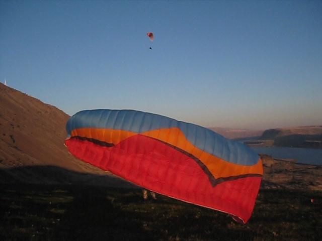 Flying at Cliffside