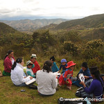 Group Meeting on the Hill - Outside Cuenca, Ecuador