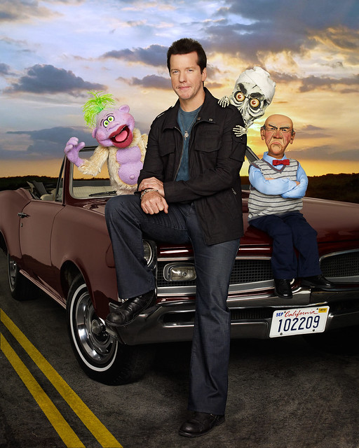 the jeff dunham show car flickr photo sharing. Black Bedroom Furniture Sets. Home Design Ideas