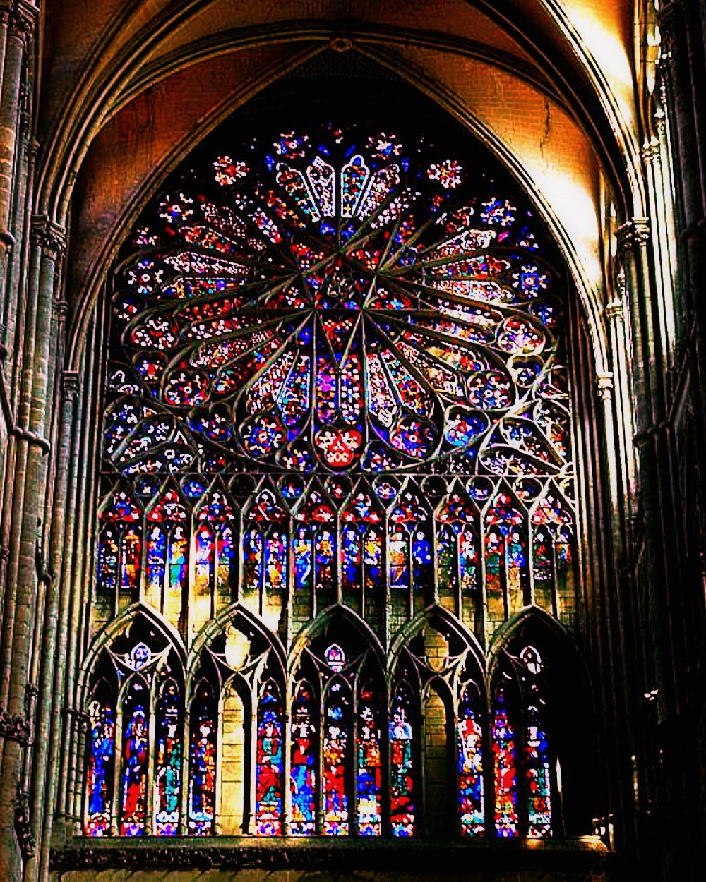 an analysis of the tracey in a rose window of washington cathedral washington dc