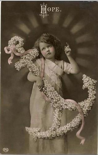 Vintage Postcard ~ Hope