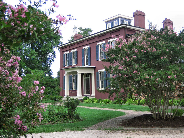 The ante-bellum Jones Stewart Mansion is open for tours!