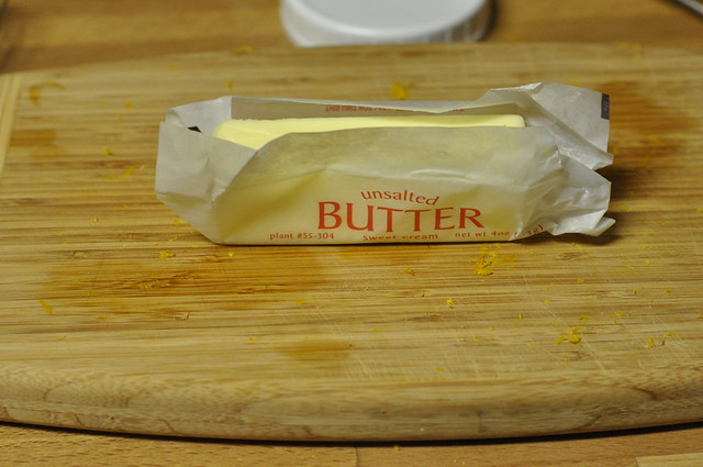 butter (unsalted is best)