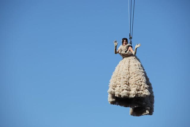 Bianca Brandolini d'Adda - Le vol de l'ange - Carnaval de Venise, il Volo dell'Angelo - Carnevale de Venezia, The Angel flight - Venice Carnival