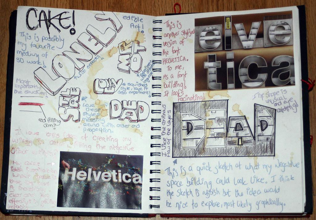 Foundation Art And Design Sketchbooks