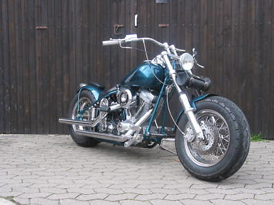 Harley Davidson Eigenbau 1950