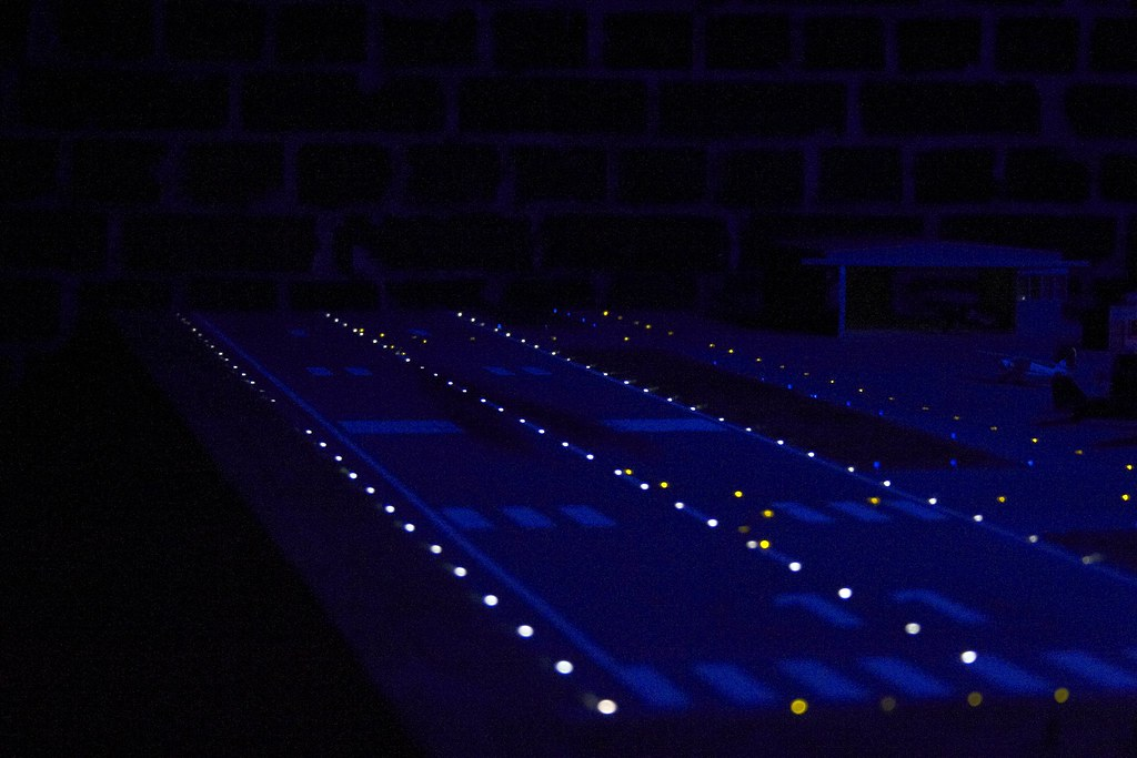 Miniature Runway at Night by Andrey Belenko, on Flickr