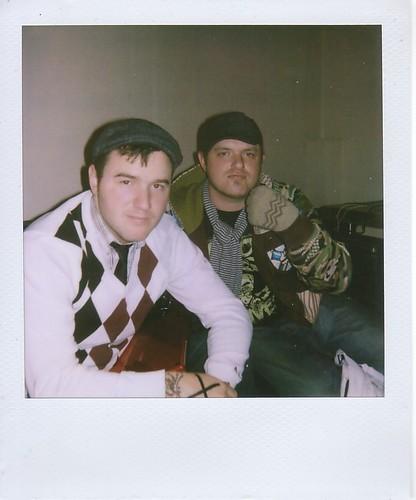 chad gilbert and steve klein, of new found glory.