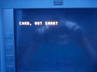 Card, not smart