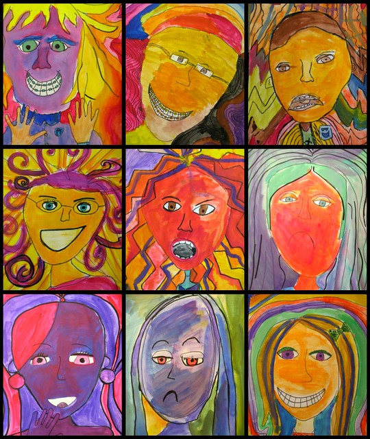 Expressive portraits flickr photo sharing for Emotion art projects