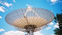 tourist attraction(0.0), lighting(0.0), ferris wheel(0.0), dome(0.0), amusement park(0.0), radio telescope(1.0),