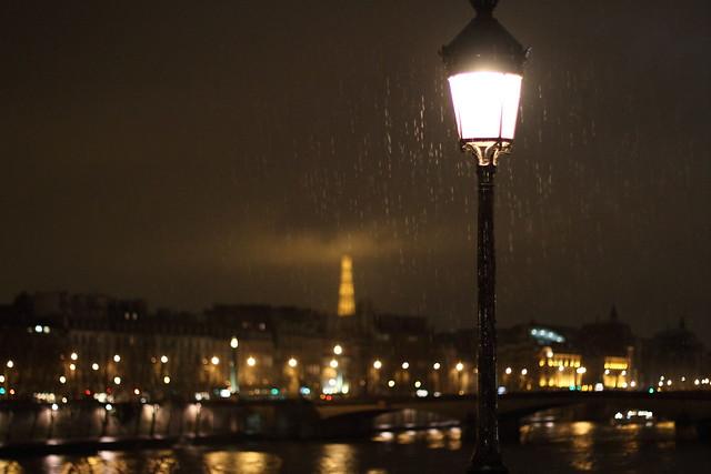 Paris bei Regen
