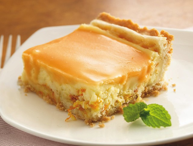Recipe: Orange Cream Dessert Squares