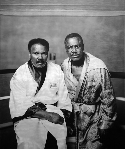 Muhammad Ali and Joe Frazier, Philadelphia, PA, 2003
