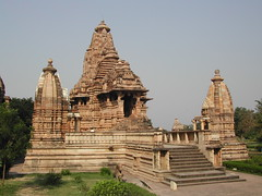 khajuraho temple by Emily Whale
