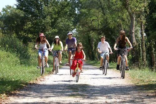 Balades à vélo en Béarn des Gaves