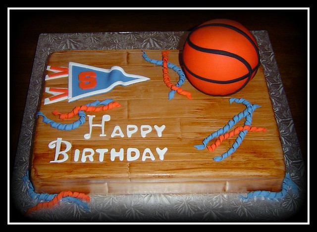 Su Basketball Birthday Cake Surprise Birthday Cake For A