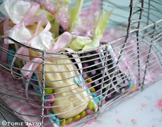 Filling my Easter basket