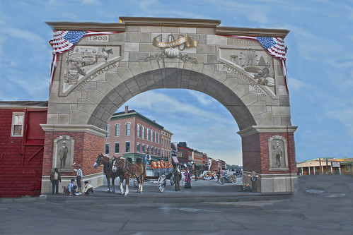 Circleville  Ohio downtown Mural