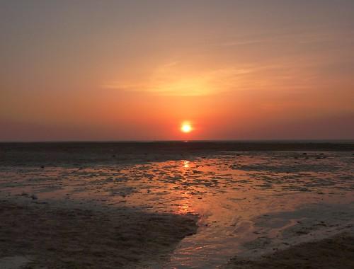 Sunset On Beach 3