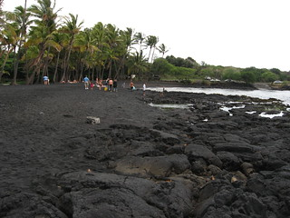Black Sand Beach, Punalu'u Beach, Big Island of Hawaii, Hawaii | by Ken Lund
