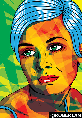 What Are Pop Art Paintings Finished With