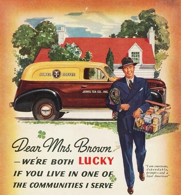 1940 Chevrolet Sedan Delivery Jewel Tea Company Flickr