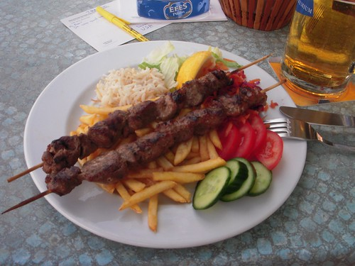 A meal I ate in Turkey